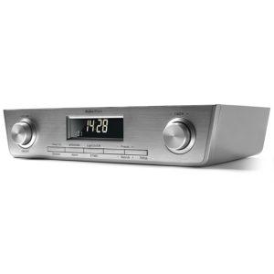 AudioAffairs Küchenradio UKW FM Unterbau-Radio Küchenunterbauradio mit LED Licht 2