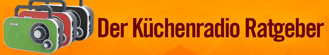 Küchenradio mit CD ++ Testsieger ++ Top 5