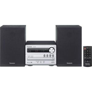 Panasonic Micro HiFi SC-PM250EG-S (20 Watt RMS, CD,UKW, Bluetooth)