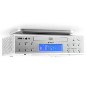 auna KRCD-150 • Küchenradio • Unterbauradio • CD-Player • USB-Port • AUX-Eingang