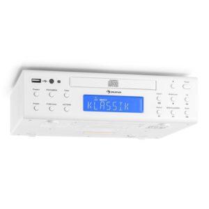 auna KRCD-150 • Küchenradio • Unterbauradio • UKW-Radio • RDS • 32 Senderspeicherplätze • automatischer